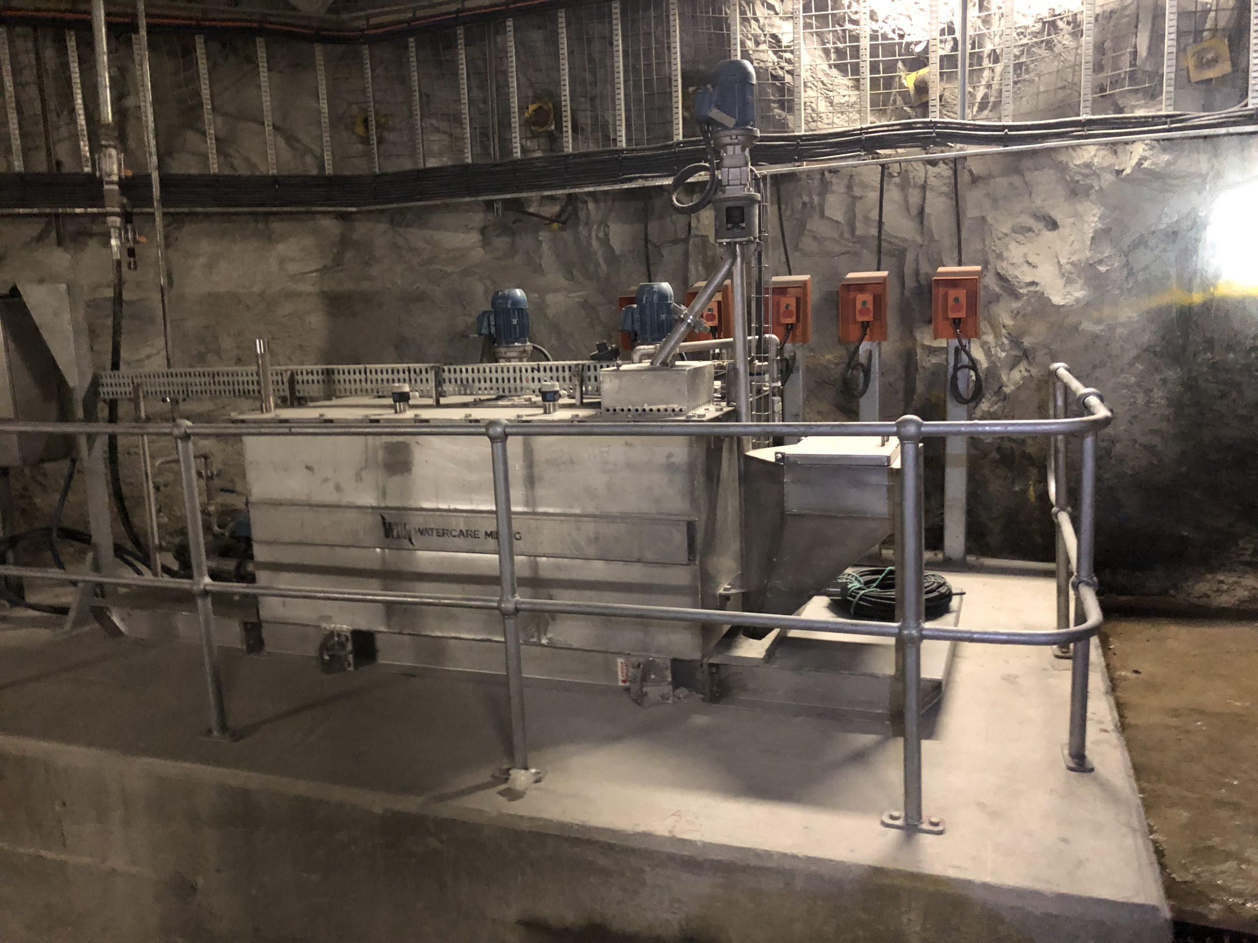 Automatic Powder Mixing & Dosing Plant