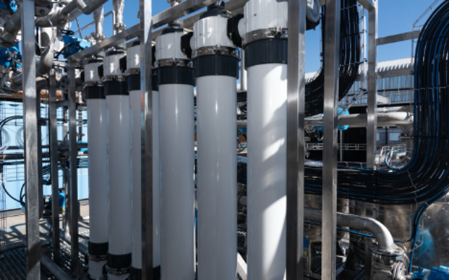 Ultrafiltration skid on the nickel sulphate recovery plant