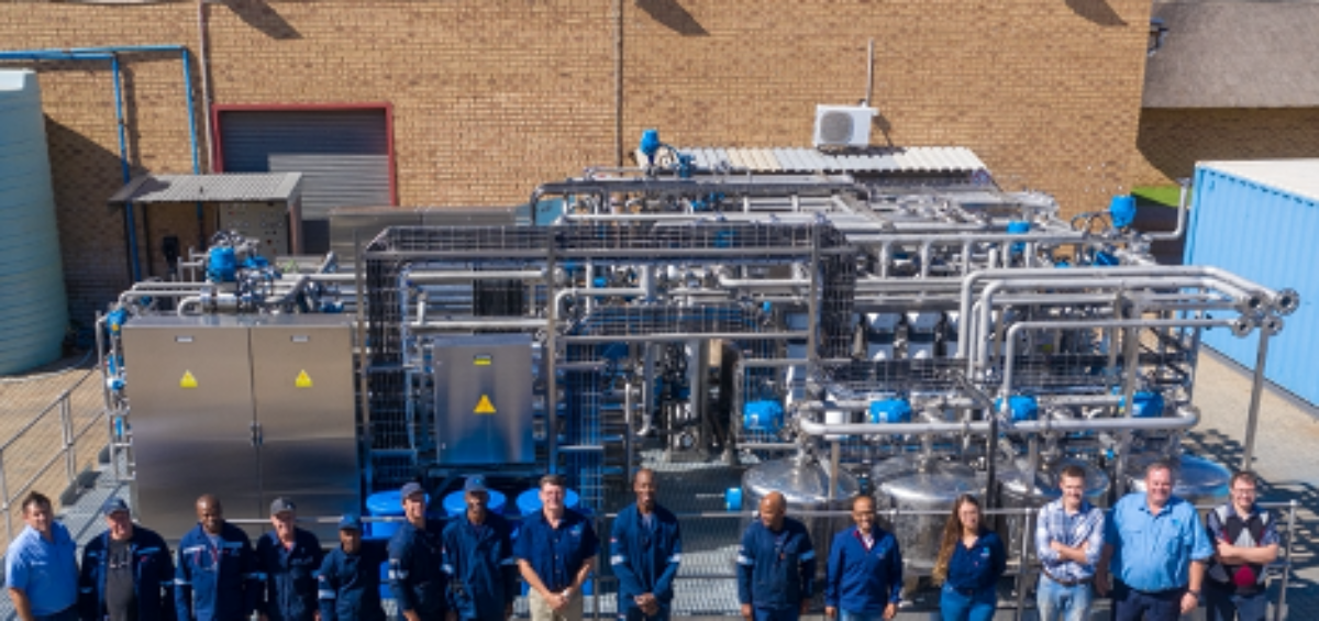 The Watercare Mining team that designed, built and commissioned the nickel sulphate recovery plant