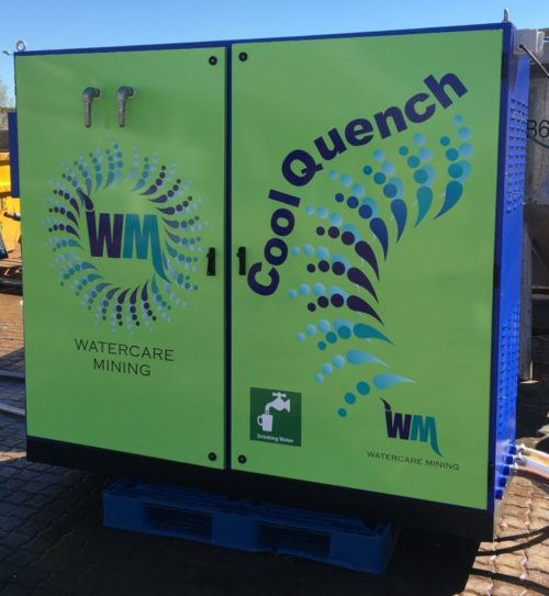 CoolQuench potable water system