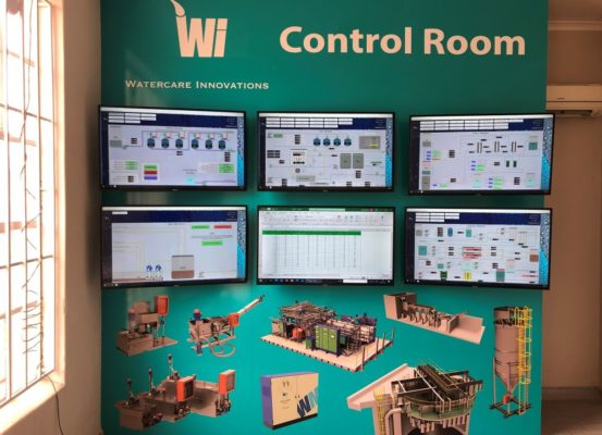 Water Process Control Room