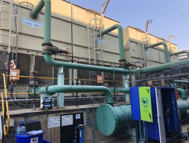 Watercare Innovations' Cooling Tower Kidney Optimiser decreases the TDS of the blowdown water up to 80% making the treated water safe to return to the makeup water for reuse in the cooling system.