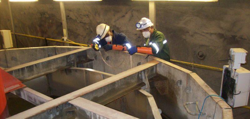 Underground settler operations