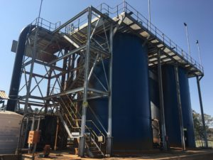 Upgraded high rate clarifier to tackle acid mine drainage