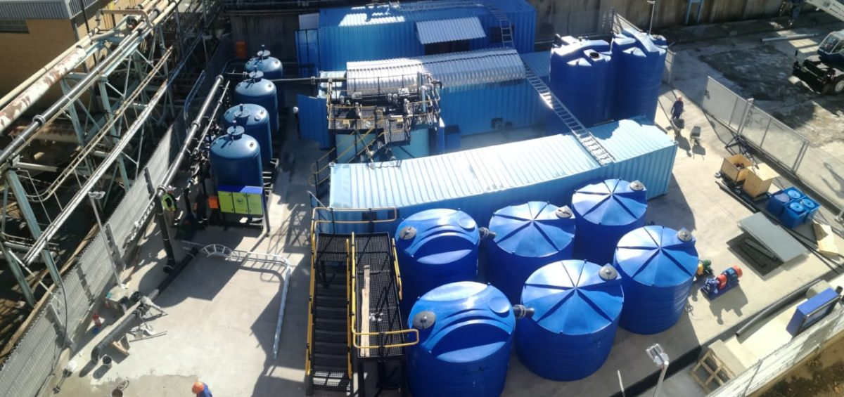 Nyala water treatment plant
